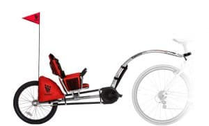 IGO recumbent bicycle tag along
