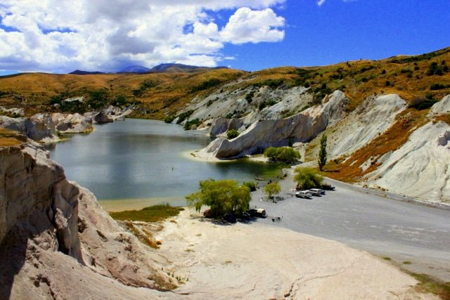 St Bathans Blue Lake - Otago Central Rail Trail
