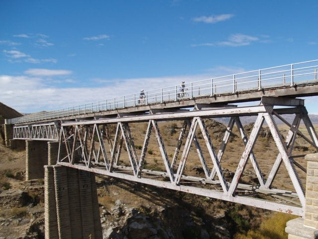 Poolburn Viaduct on the Otago Central Rail Trail
